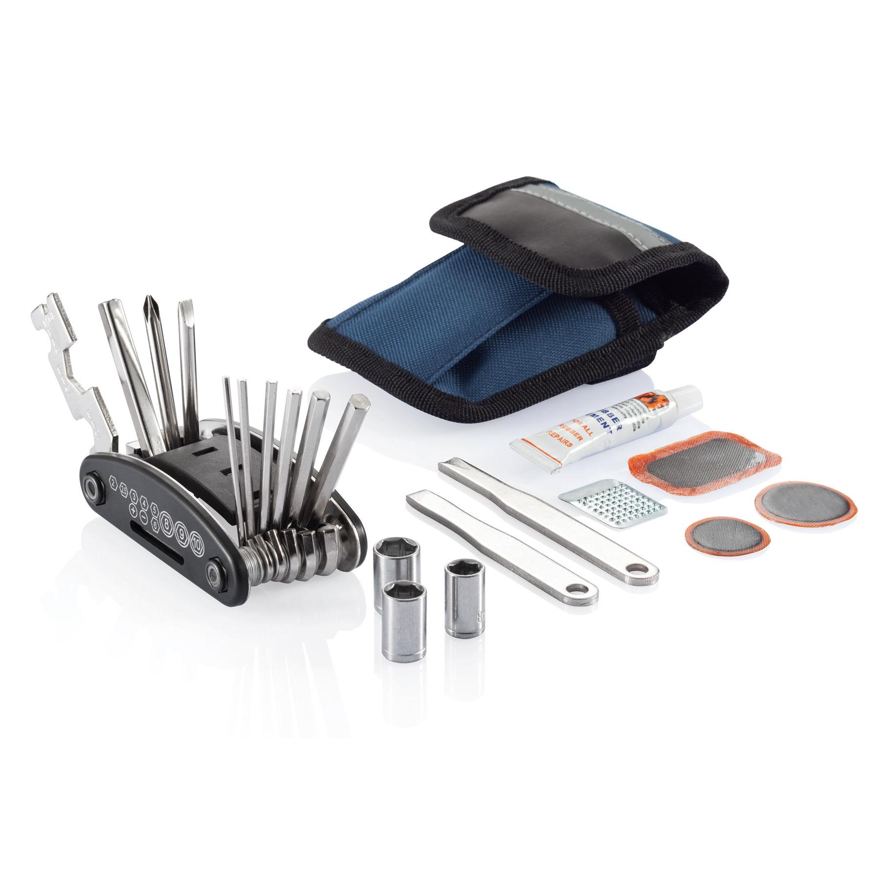 kit reparation velo publicitaire outils multifonctions a. Black Bedroom Furniture Sets. Home Design Ideas