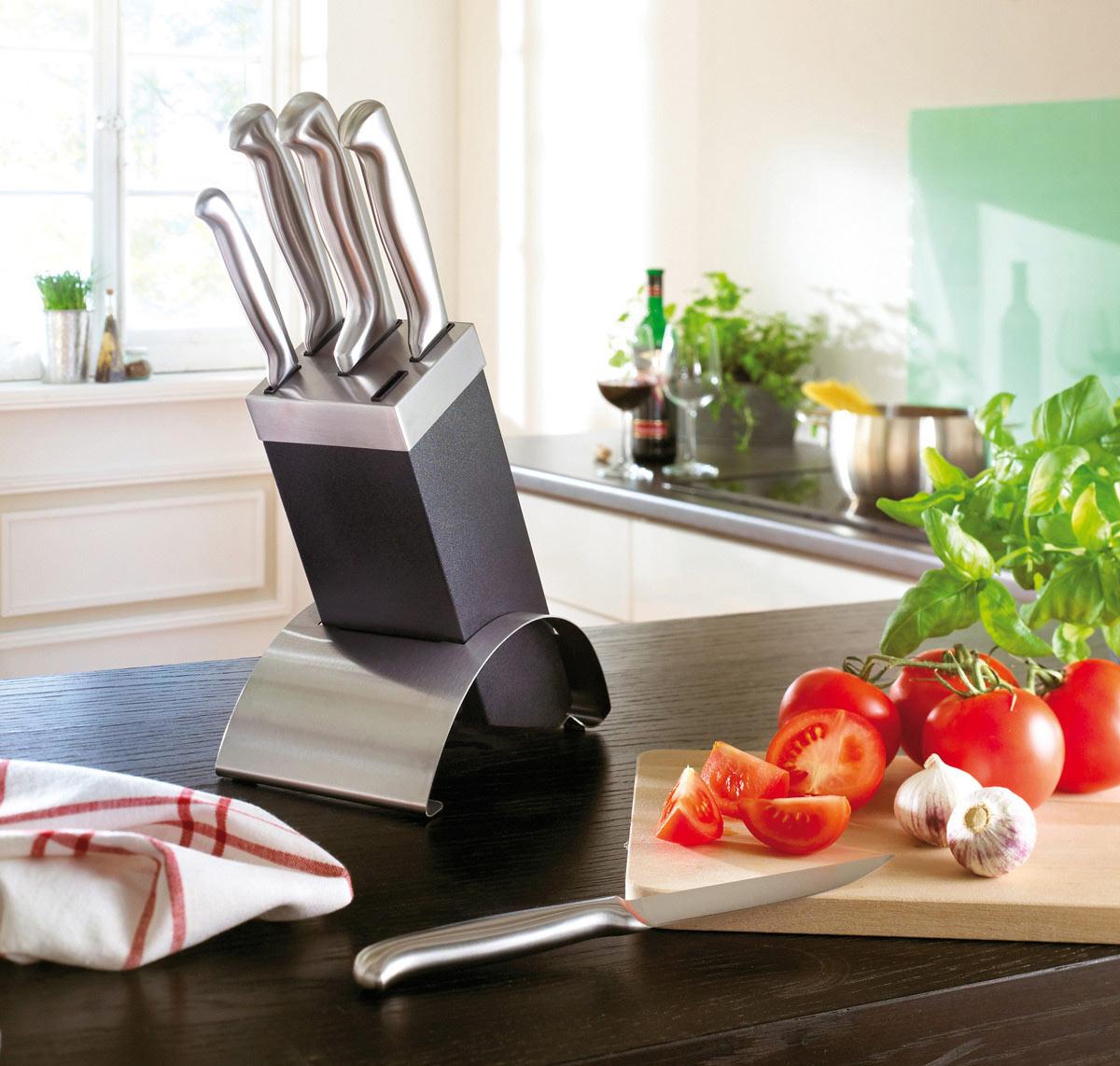 Set couteaux de cuisine publicitaires les couteaux de for Support couteaux cuisine